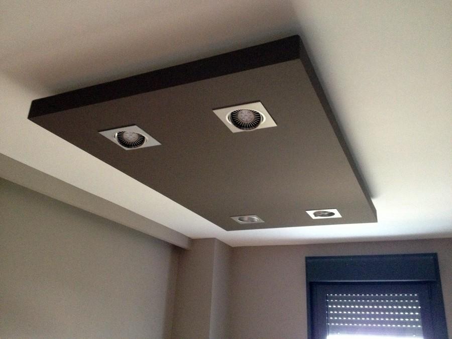 Cajon en el techo de escayola o pladur vitoria gasteiz - Fotos de techos de pladur ...