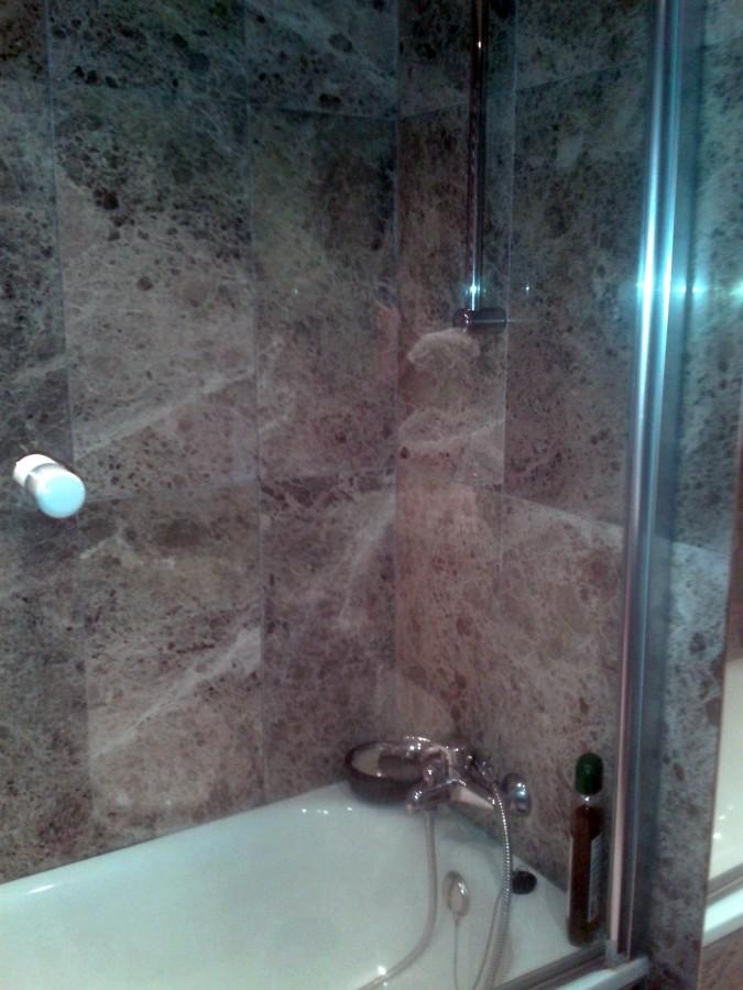 Cambio de ba era por ducha de cemento pulido alcal de - Cambio banera por ducha madrid ...