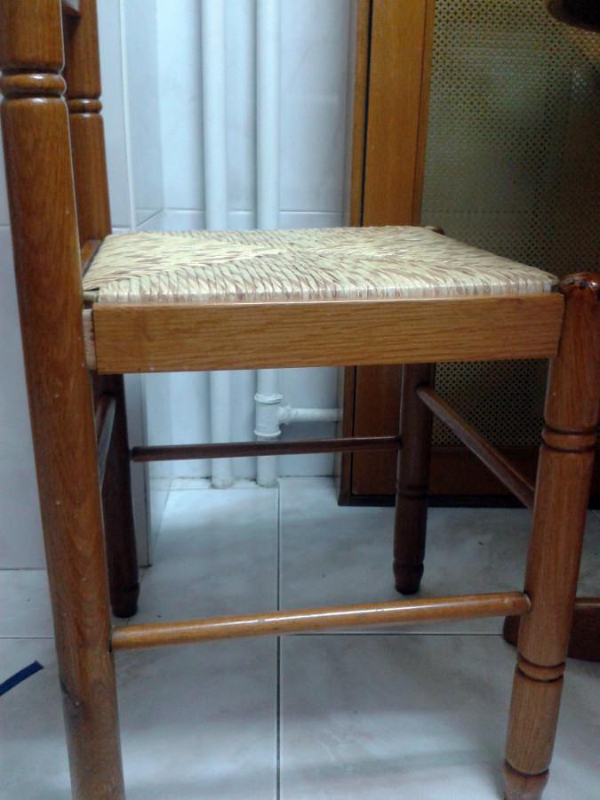 Encolar silla de cocina de madera santander cantabria for Sillas cocina madera precios