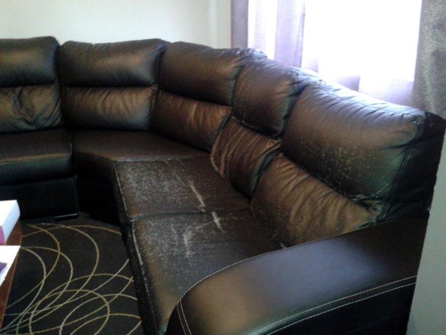 Tapizar sofa esquinero en piel llic de vall barcelona - Precio tapizar sofa ...