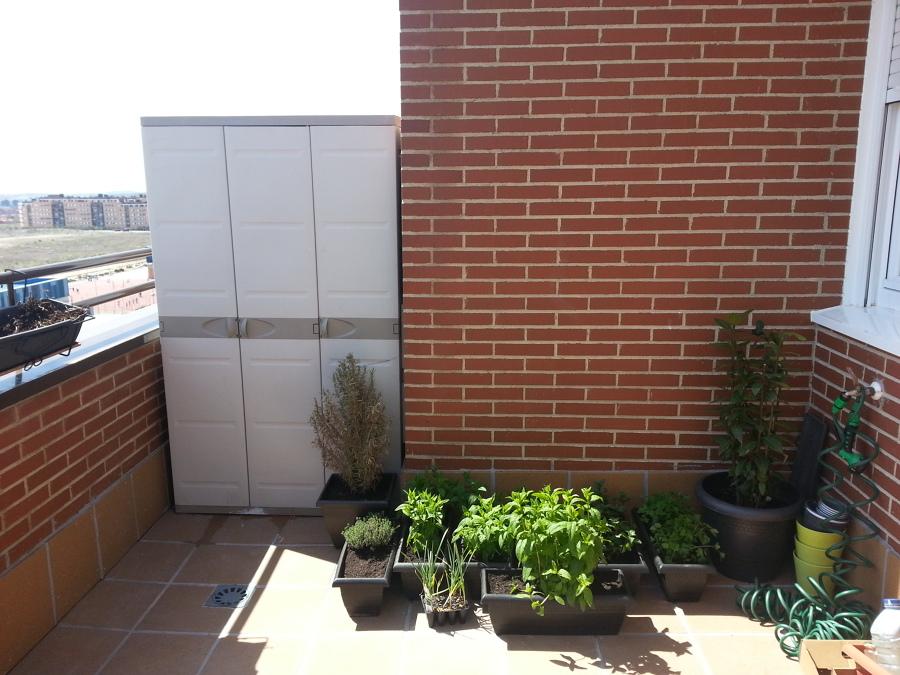 Instalaci n de celos a en terraza de tico rivas for Celosia terraza