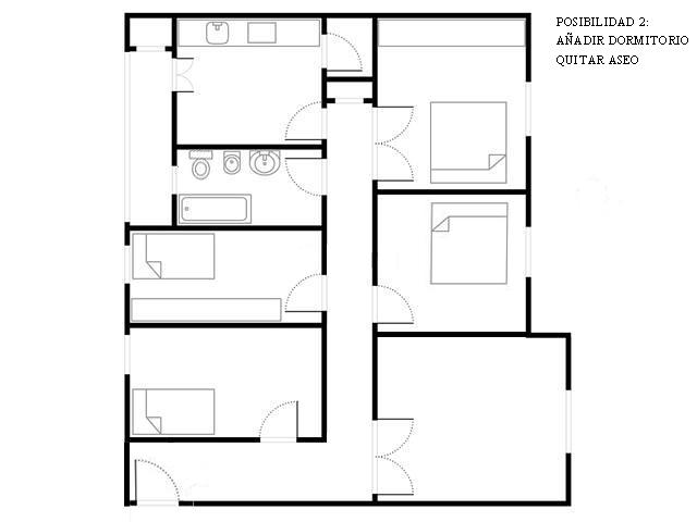 Reforma integral vivienda 107 m2 madrid madrid - Precio reforma bano 4 m2 ...