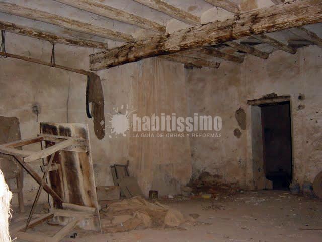 Rehabilitaci n casa de pueblo barcelona barcelona - Rehabilitacion de casas antiguas ...