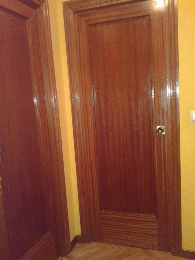 barnizar puertas madera interior leganes madrid