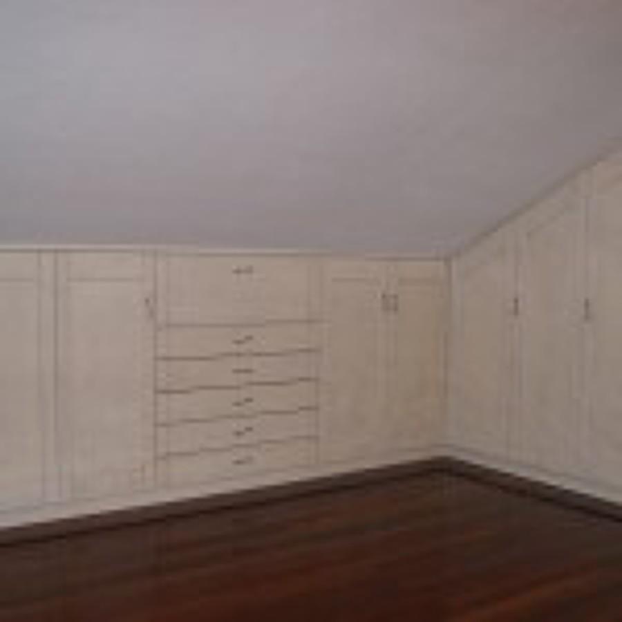 Hacer armario a medida en buhardilla los hueros madrid - Precio armarios a medida ...