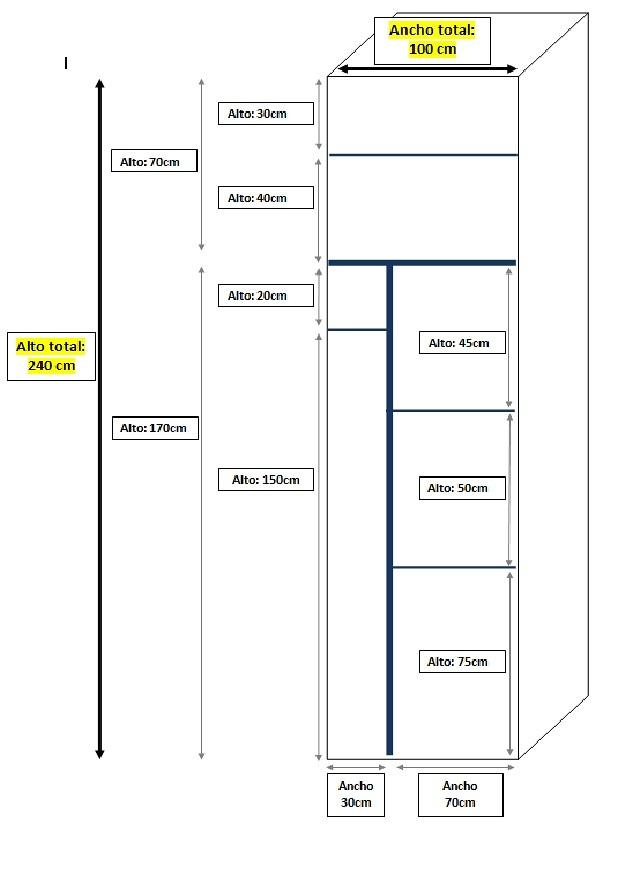 Armario aluminio blanco terraza vilanova i la geltr for Precios de armarios a medida