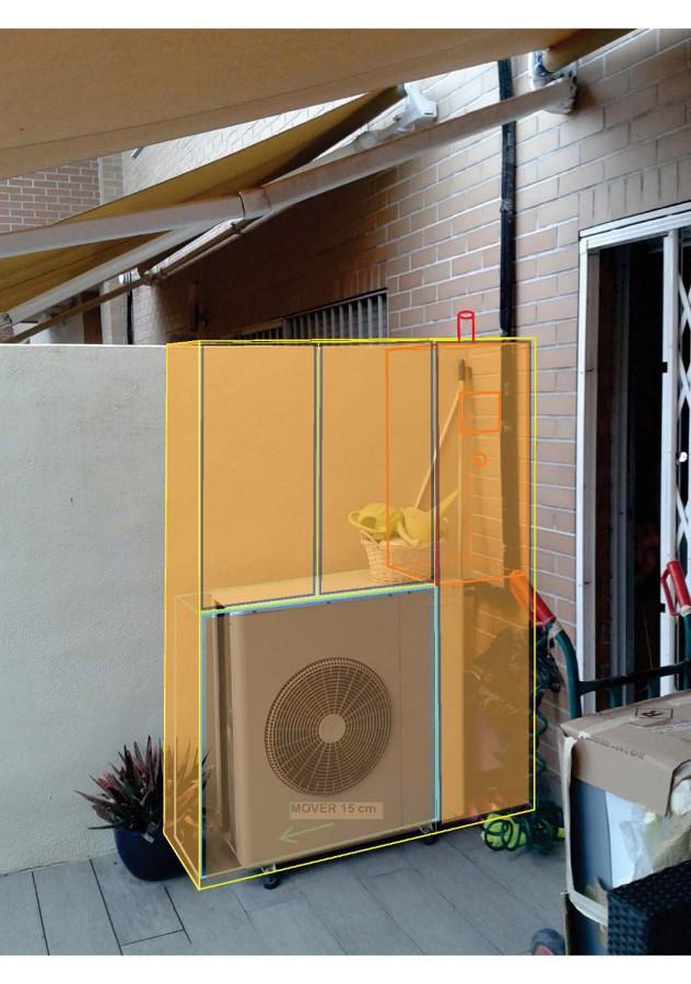 Armario de exterior aluminio imitaci n madera valencia valencia habitissimo - Armario para caldera exterior ...