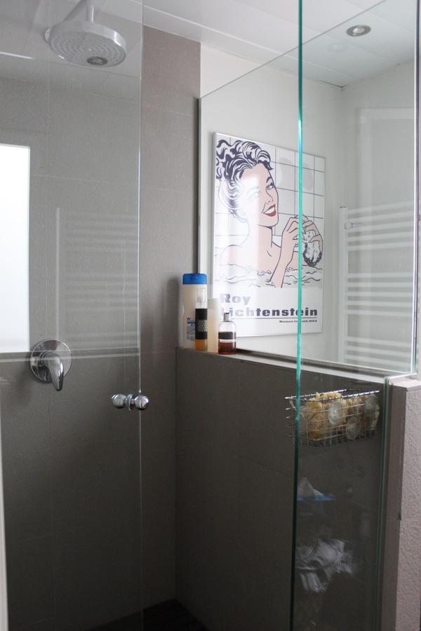 Cambiar techo desmontable en ba o por lamas de aluminio for Techo desmontable bano