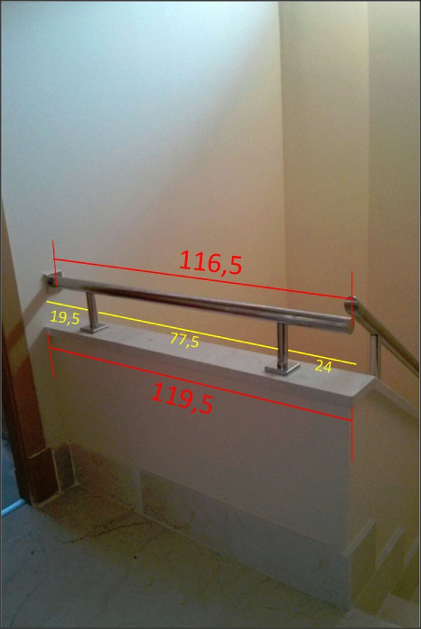 Subir barandilla escalera para evitar ca das seguridad - Barandillas seguridad ninos ...