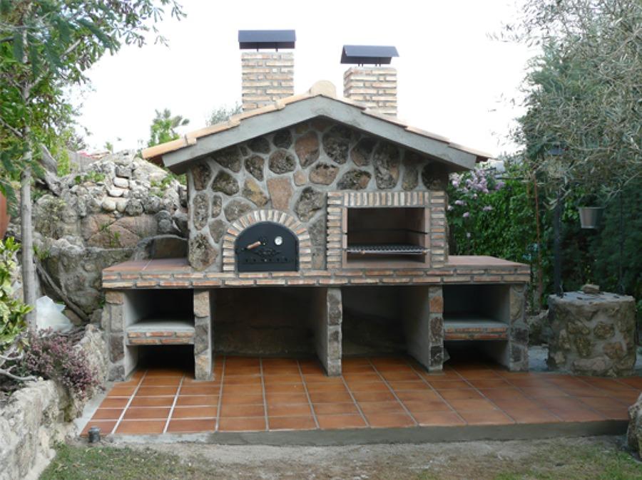 Barbacoa y horno obra arroyomolinos madrid habitissimo - Barbacoas y hornos ...