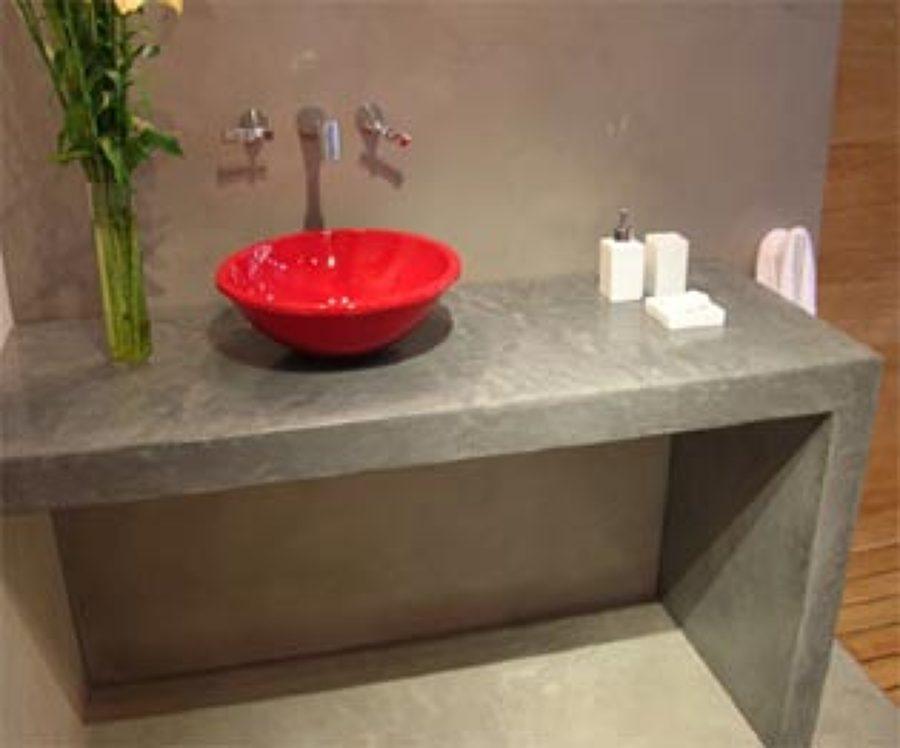 Encimera de cemento pulido castronuevo de esgueva for Cemento pulido precio