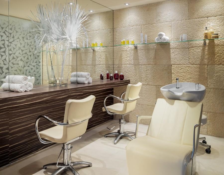 Reforma y decoracion integral para peluqueria cabanillas - Decoracion de peluqueria ...