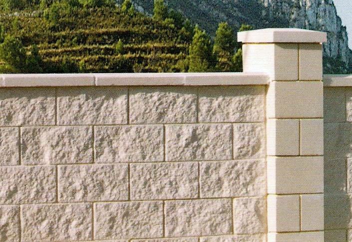 Hacer muro cerramiento parcela l 39 eliana valencia - Bloques de hormigon decorativos ...