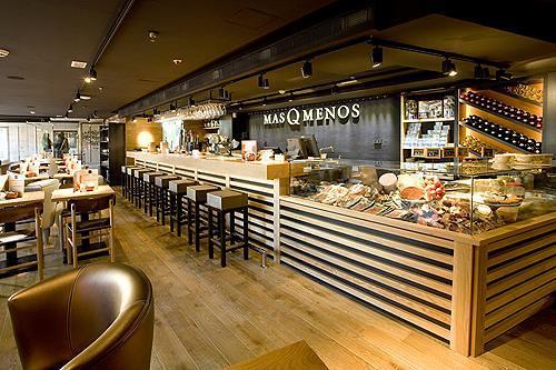 Decoraci n mobiliario cafeteria panaderia cardedeu for Mobiliario cafeteria