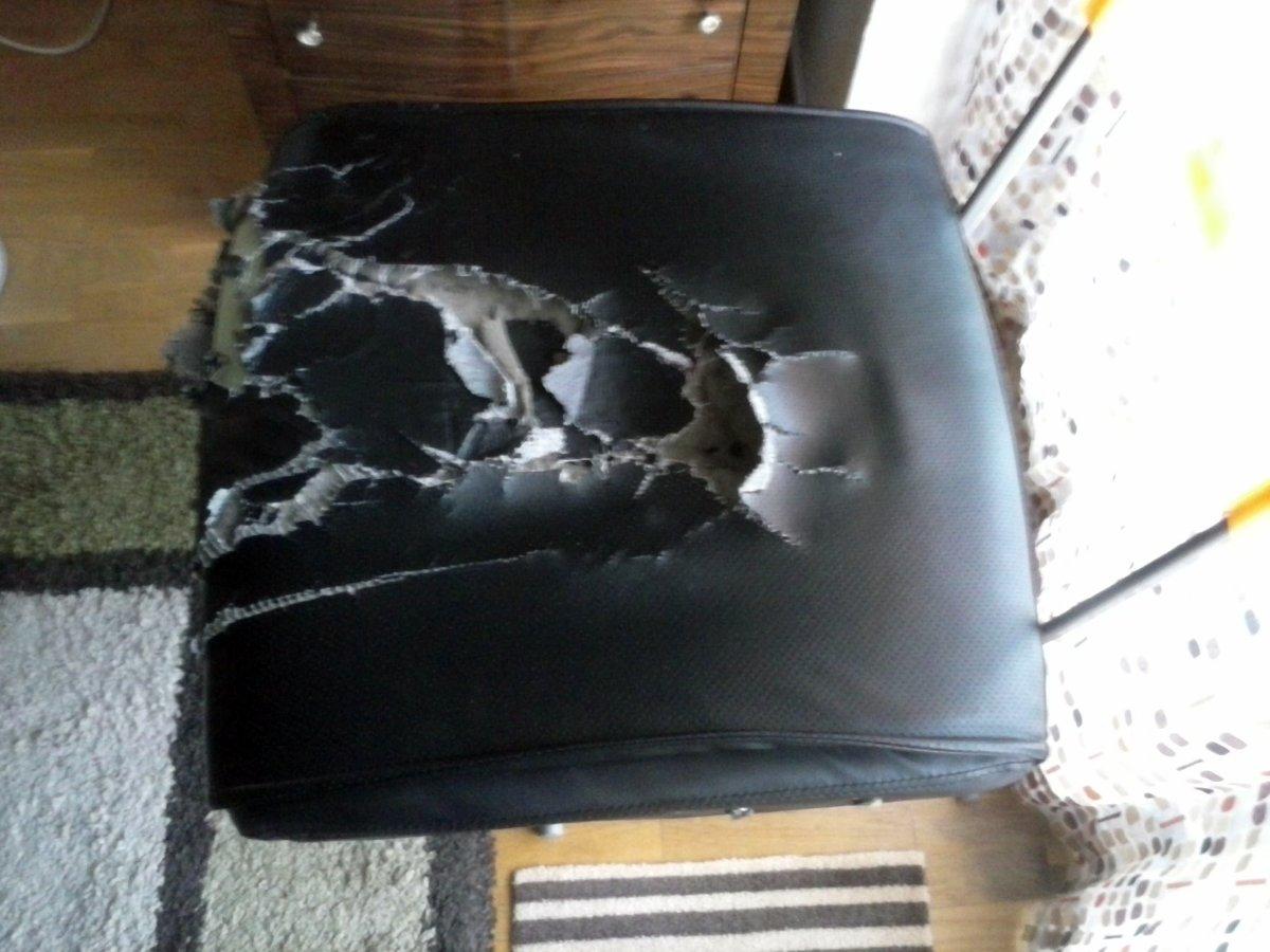 Tapizar asiento silla escritorio gij n asturias - Presupuesto tapizar sillas ...