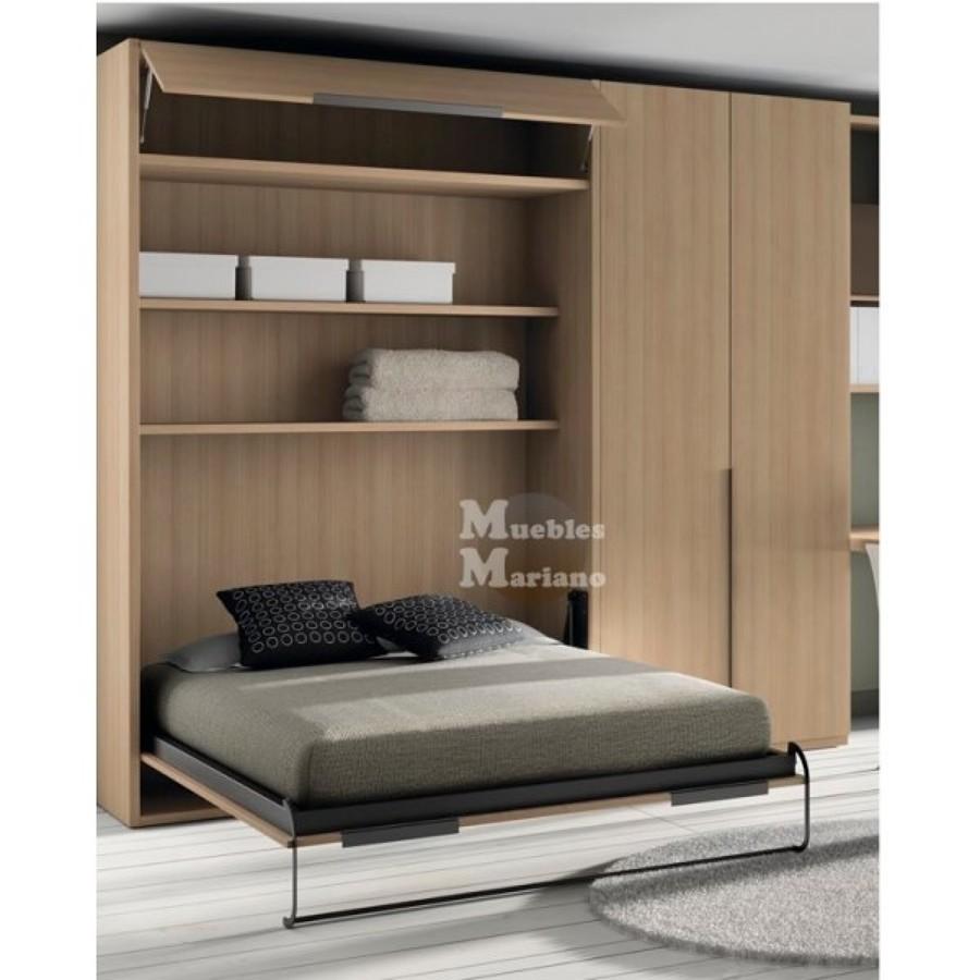 Insonorizaci n de pared mueble de pared con cama for Mueble que se hace cama