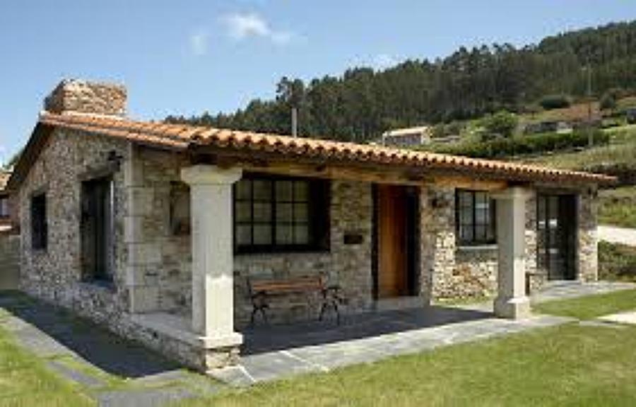 Proyecto y construcci n casa melide a coru a habitissimo - Casas de piedra gallegas ...