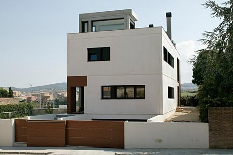 Construccion de casa prefabricada de hormi n yeles - Locales prefabricados ...