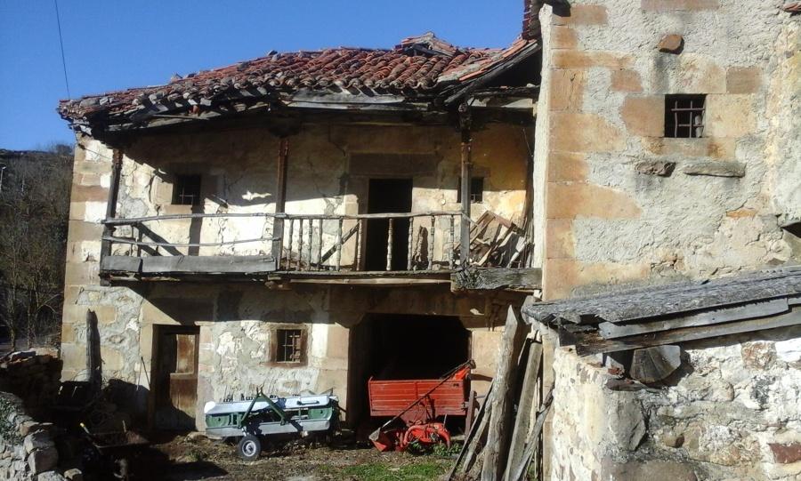 rehabilitar casa antigua de pueblo puente pumar