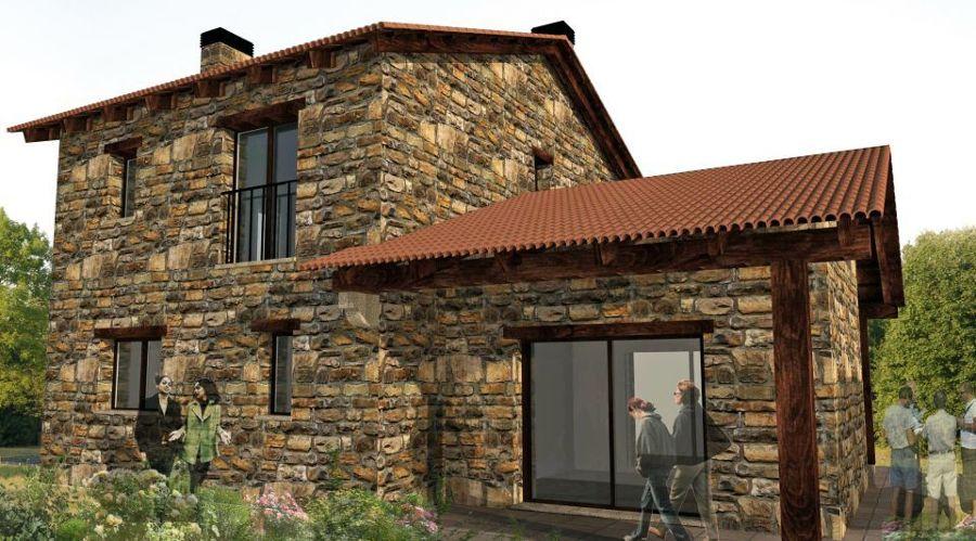 Casa de piedra en chapela redondela chapela - Casas prefabricadas en pontevedra ...