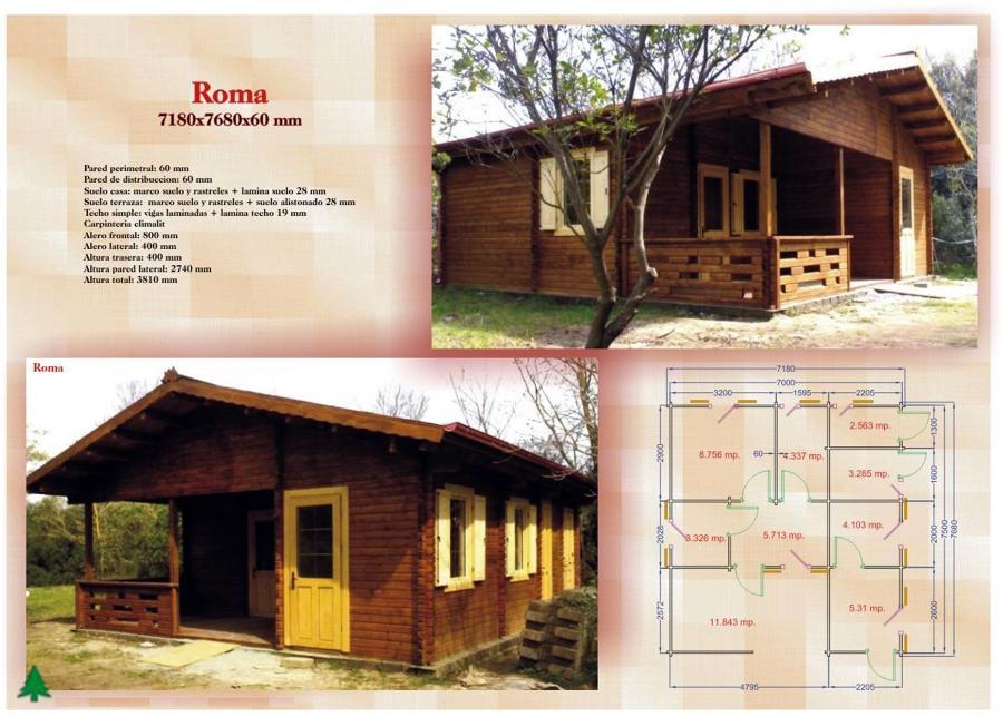 Presupuesto casa de madera en terreno rustico terrassa - Presupuesto casas prefabricadas ...