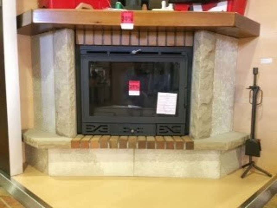 Instalaci n insert casette en hogar chimenea alp girona - Chimeneas grandes dimensiones ...