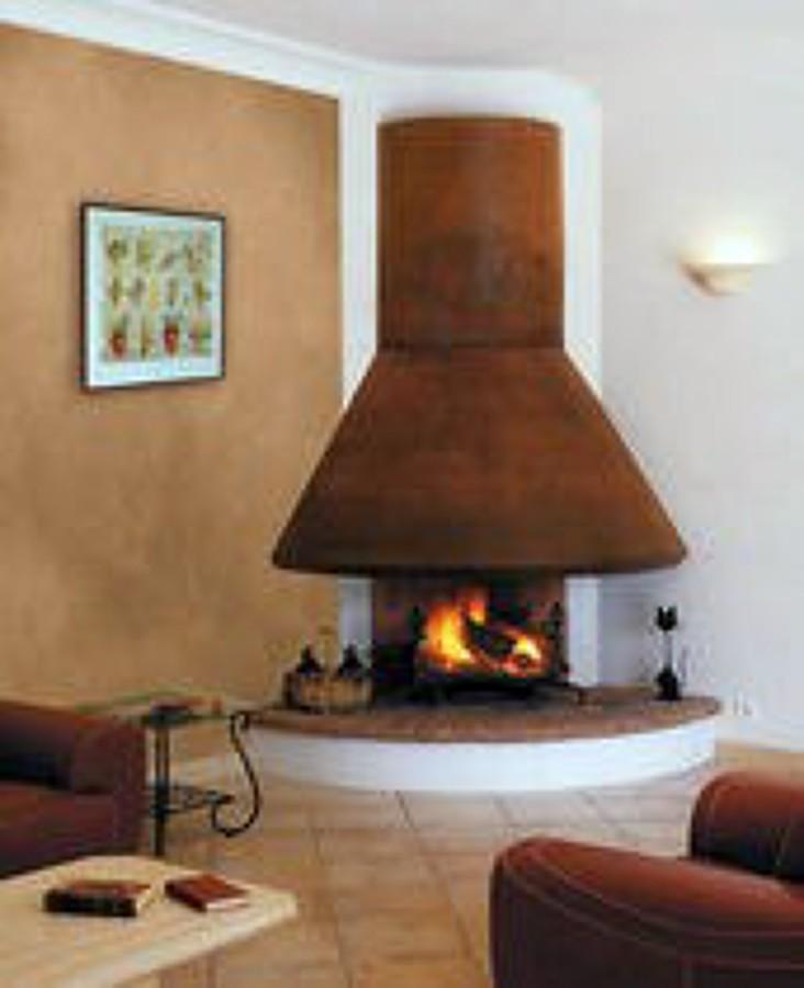 Hacer plano para instalaci n de chimenea benalup casas - Chimeneas de esquina modernas ...