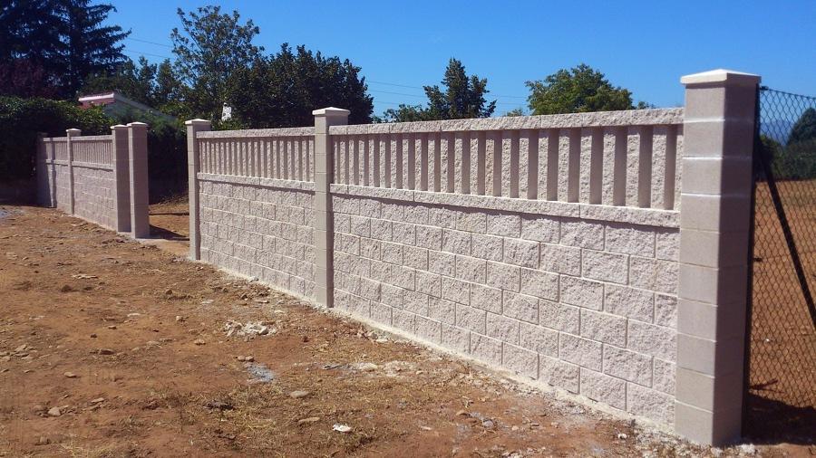 Construir muro bloque c ceres c ceres habitissimo - Muro de bloques ...