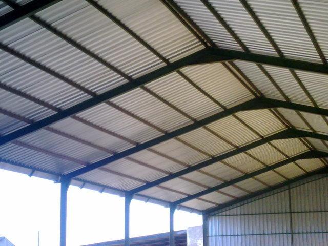 Constuir cobertizo agricola picassent valencia for Cobertizo de metal