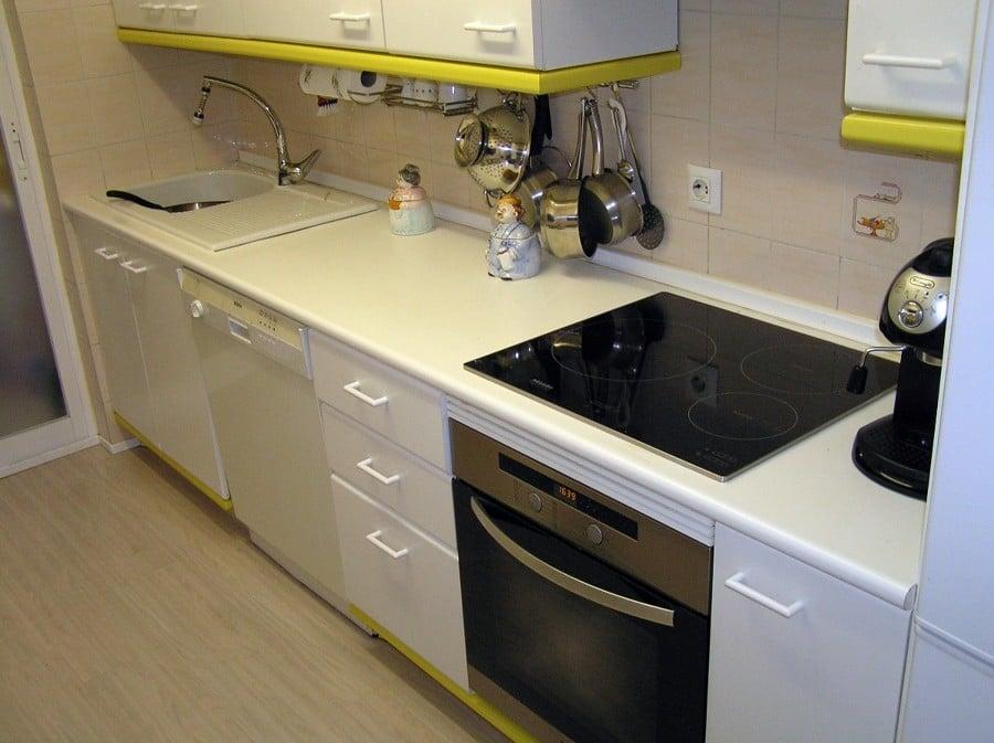 Cambiar encimera y fregadero de cocina madrid madrid - Pica silestone ...