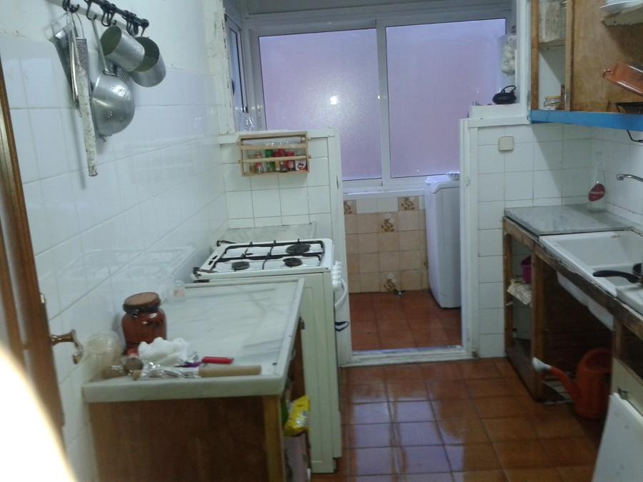 Reforma racholas en cocina y ba o cambio ba era a ducha - Racholas para cocina ...
