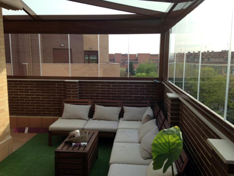 Cerrar una terraza precio dise os arquitect nicos - Cerrar la terraza ...