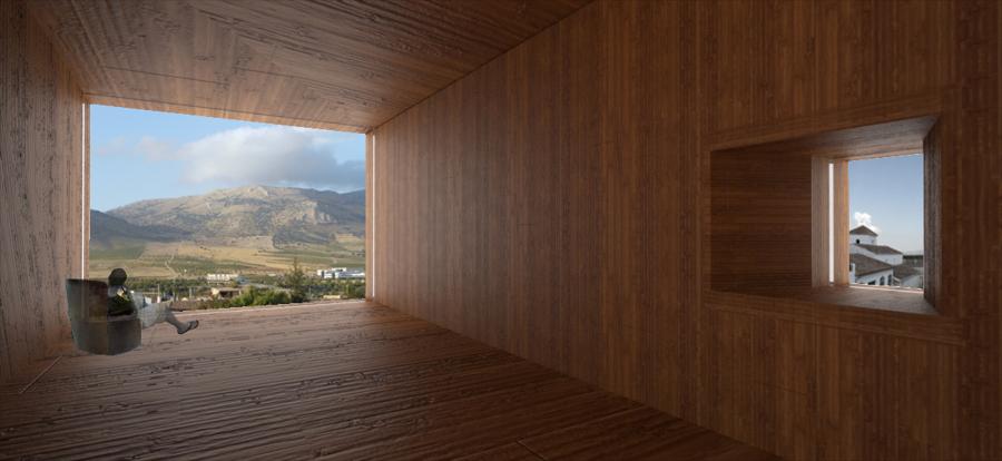 Parquet en suelo paredes y techo v lez rubio almer a - Calidades de parquet ...
