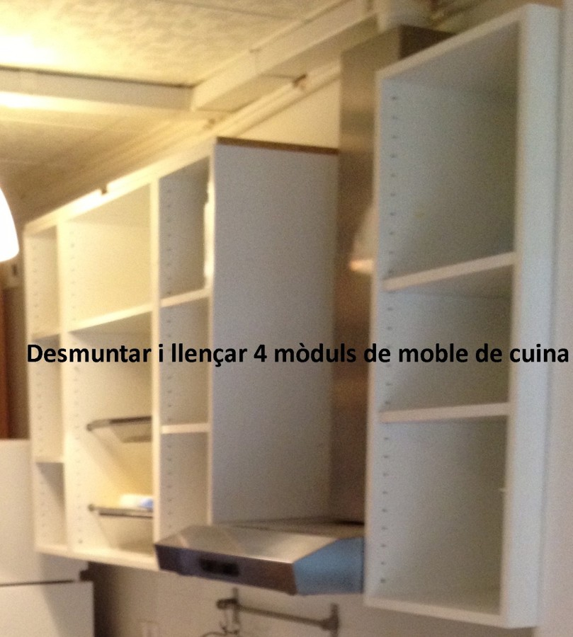 Medir transportar y montar muebles cocina y ba o de ikea - Muebles modulares ikea ...