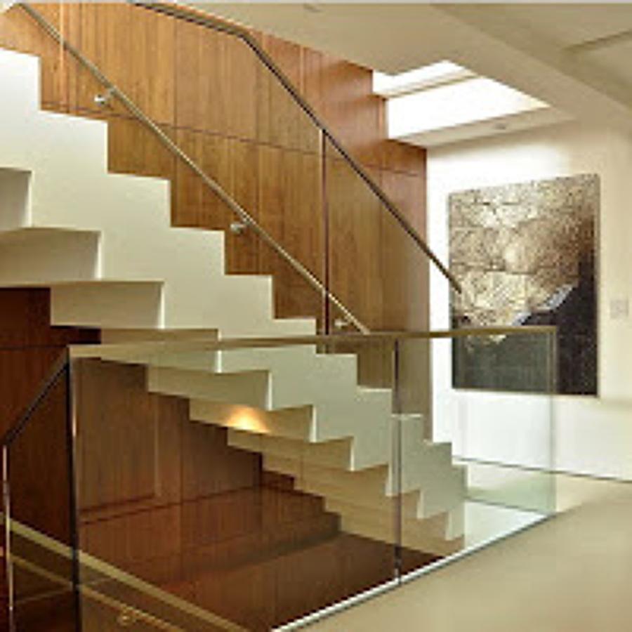 Reforma de escalera interior sant feliu de llobregat for Escalera de hormigon con descanso