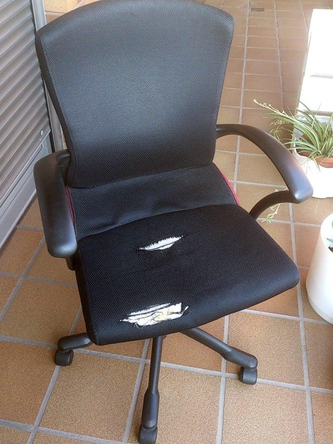 Tapizar silla tipo oficina pamplona iru a navarra - Presupuesto tapizar sillas ...