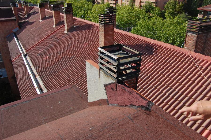 Extractor De Baño Colocacion:extractor humos en chimenea salida shunt cocinas/baños por tejado de