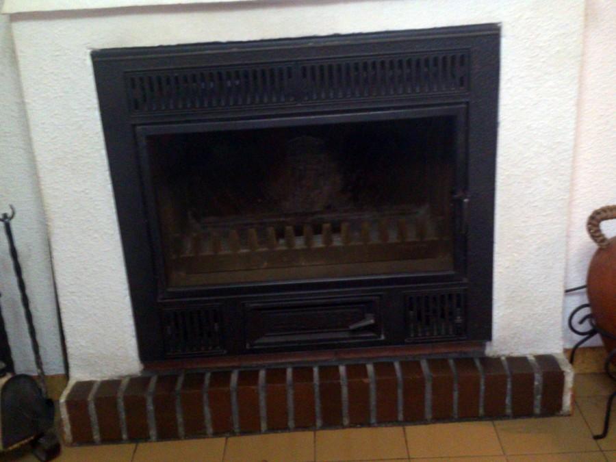 Chimenea de le a calefacci n miguel esteban toledo - Calefaccion lena radiadores ...