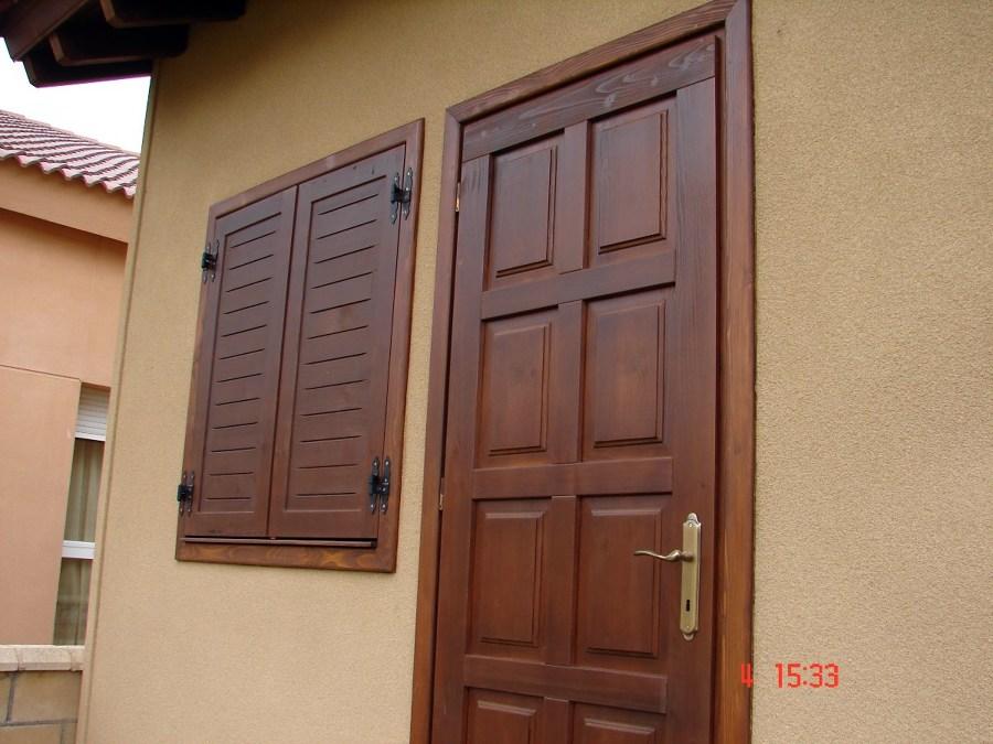 Puertas de madera y contraventanas almarza soria for Puertas prefabricadas precios