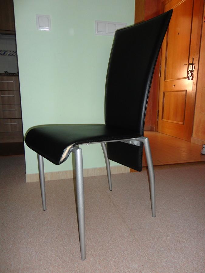 Tapizar cillas de comedor polipiel benicarlo castell n habitissimo - Presupuesto tapizar sillas ...
