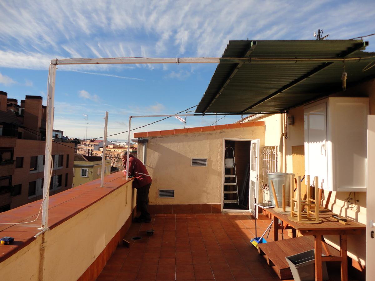 Cubrir terraza de tico madrid madrid habitissimo for Cerramiento terraza sin licencia