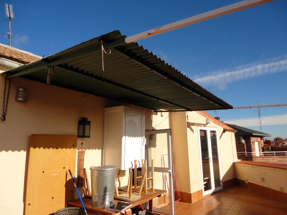 Terrazas aticos madrid ideas de disenos - Cubrir terraza atico ...