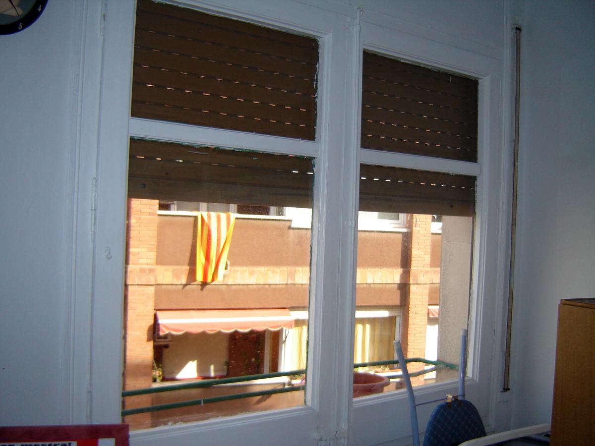 Cambiar 6 ventanas de madera por aluminio barcelona barcelona habitissimo - Presupuesto cambiar ventanas ...