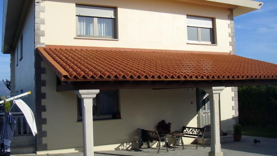 Pintar fachadas casa unifamiliar muros a coru a habitissimo - Presupuesto pintar casa ...