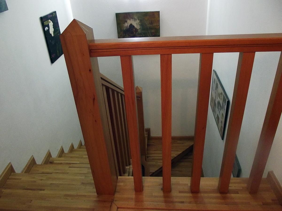 Como hacer una escalera de madera hacer bricolaje es - Como hacer escaleras de madera ...