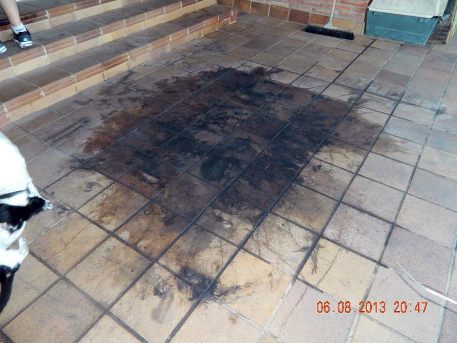 Cambiar suelo gres de breda por incendio la conreria for Gres de breda para piscinas