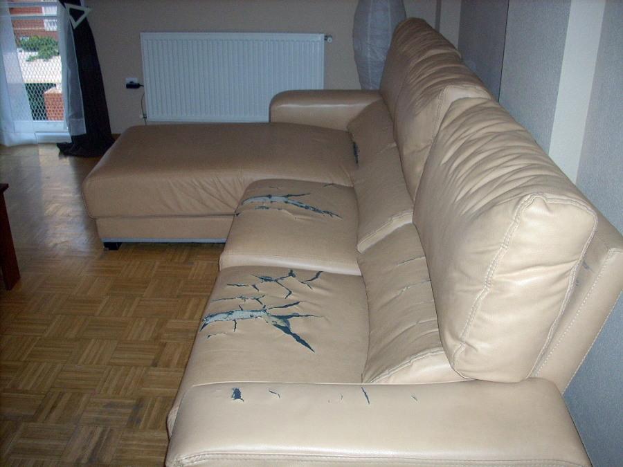 Tapizar sof de 3 plazas y chaise longue alcal de - Tapizar sofas precios ...