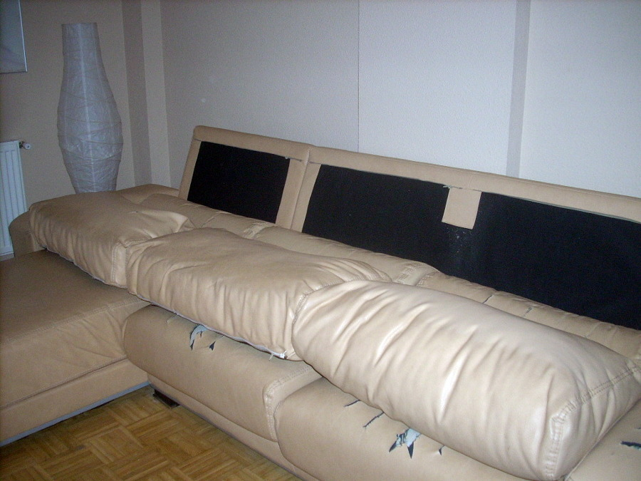 Tapizar sof de 3 plazas y chaise longue alcal de - Precio para tapizar un sofa ...