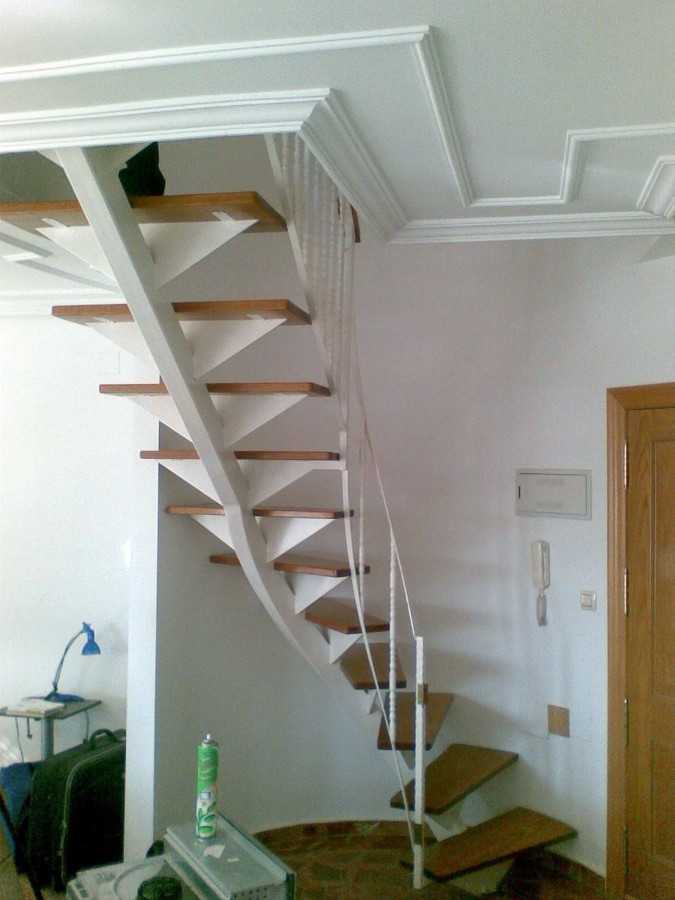 Reforma escalera de caracol por alguna mas accesible - Precio escalera caracol ...
