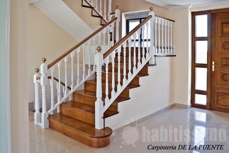 Cambiar barandilla de forja de las escaleras de casa y - Barandillas para escalera ...